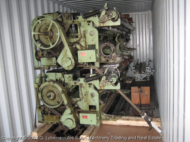 You are browsing images from the file: Loading of Sulzer looms (b)