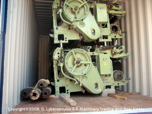 You are browsing images from the file: Loading of Sulzer TW11 looms
