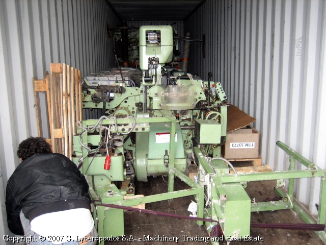 You are browsing images from the file: Loading of Sulzer looms (c)