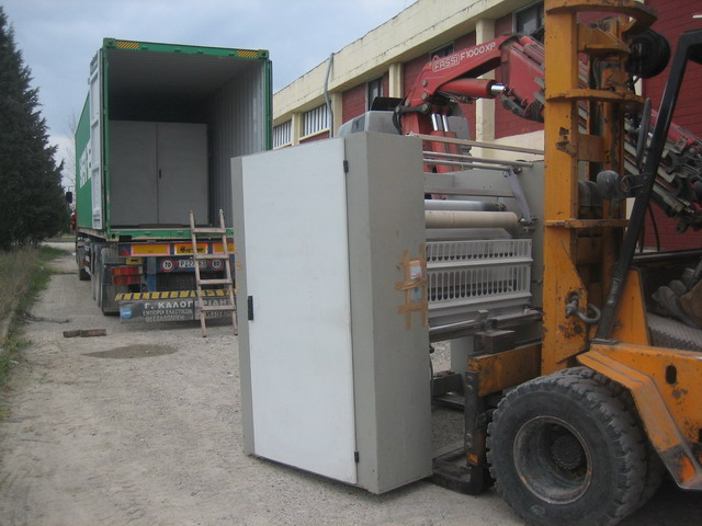 You are browsing images from the file: Loading of Ferraro tubular compactor