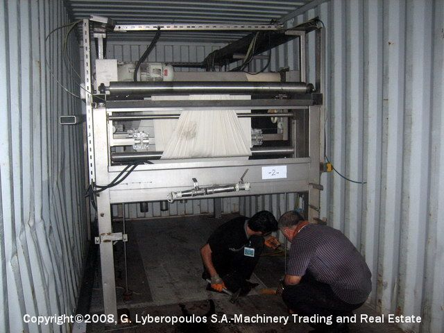 You are browsing images from the file: Loading of Dornier mercerizing machine