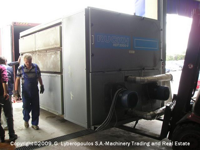 You are browsing images from the file: Loading of Ruckh dryer & Santex compactor