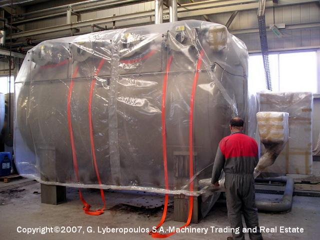 You are browsing images from the file: Loading of Sclavos HT4 dyeing machine